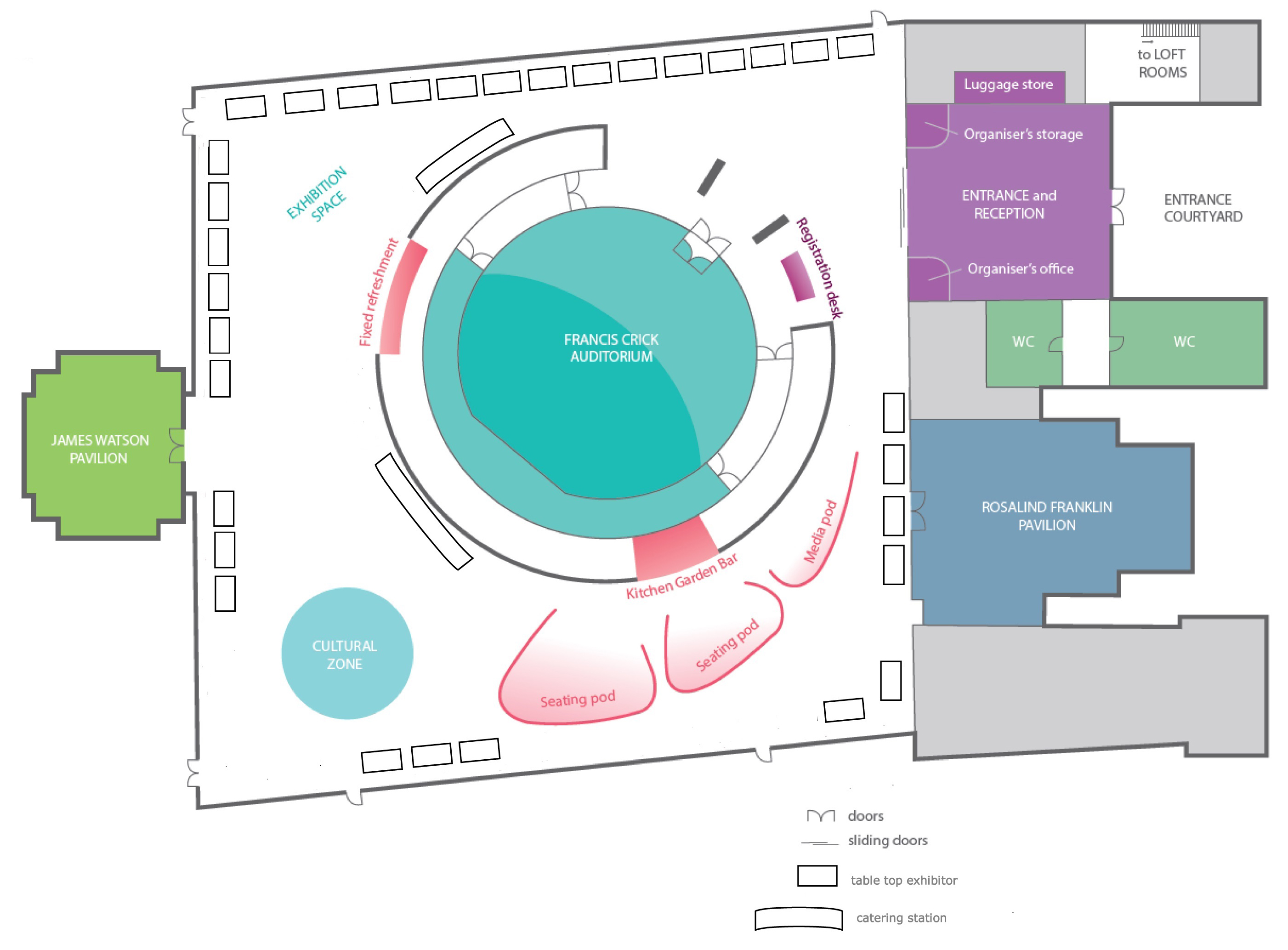 Wellcome Floor Plan